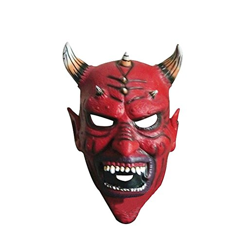 Sunfish Horns Monster-maske für Halloween Maske latex Für Halloween und Maskenspiel Für Erwachsene Größe