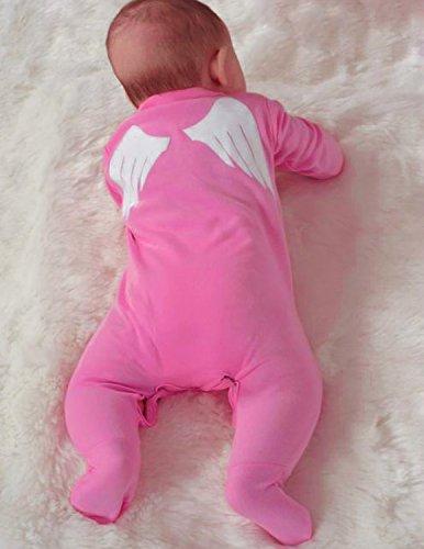 Engel Flügel Cute Baby Schlafanzug/Liebenswürdig, Baby Mädchen Outfit oder Kostüm Idee/Mädchen niedliche Baby (Baby Unglaublichen Kostüme)