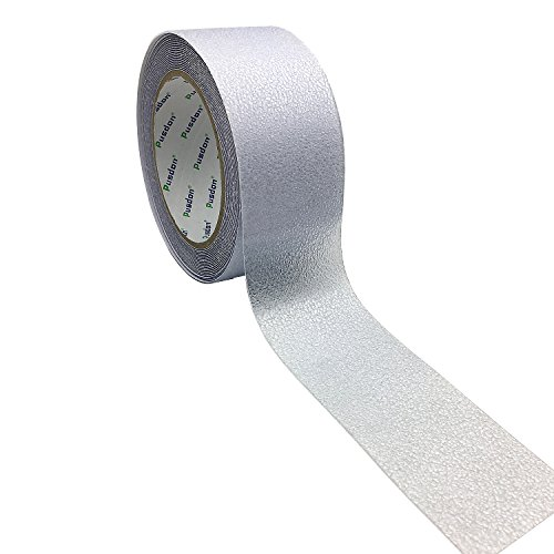 Pusdon Anti Slip Tape, Safety-Walk Tub and Shower Treads, Clear, 2-Inch x 20Ft (51mm x 6.1m), Non Skid Bath and Shower Tape