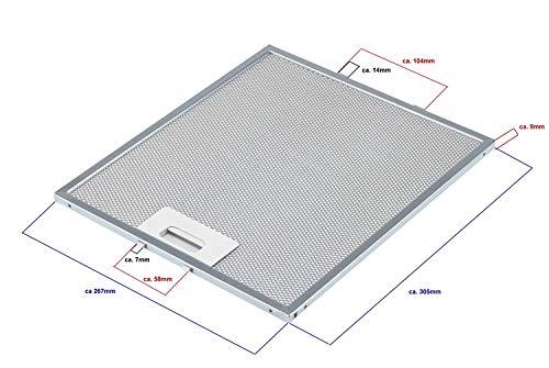 AIRAM Whirlpool 480122102168 Filtro Campana metálica