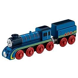 Fisher Price dfx20–Thomas e i Suoi Amici, Locomotiva Frieda, Legno