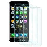 9HDClear Panzerglas Schutzfolie für iPhone 6/iPhone7/iPhone8 [3 Stück] HD HD Ultra-klar Ultra Clear Anti-Öl Anti-Bläschen (4.7 Zoll)