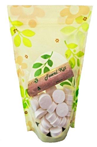 KLES'S Compresso, viaggi, bellezza, sport asciugamani (1 tubo dispenser asciugamani + 50) - Monouso Tovagliette Bambini