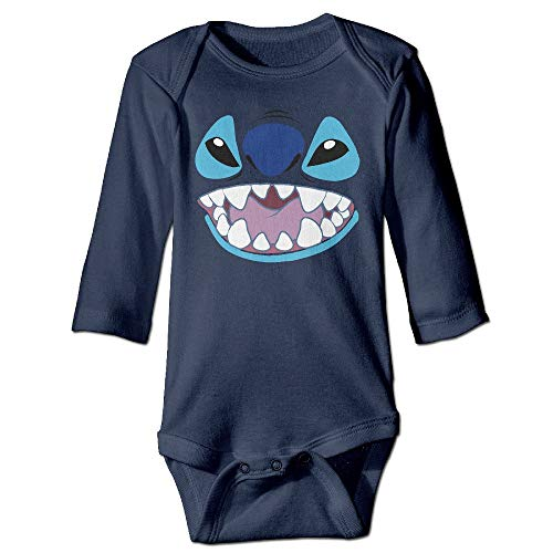 Baby Stitch FACE Cotton Baby One Piece 12Months - Fox-stitch