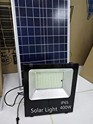 Sister-A 400W Solar Light Motion Sensor LED Flood Lights Outdoor Security Light with Remote IP66 Waterproof fo