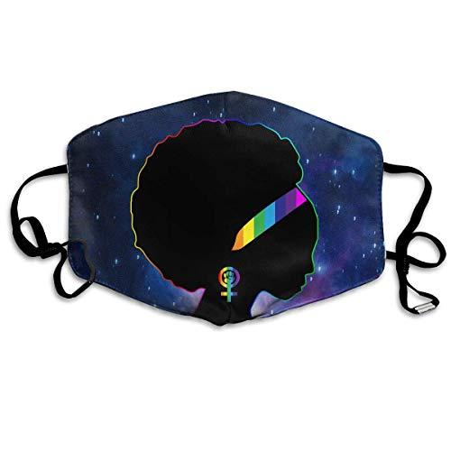 WBinHua Masken, Masken für Erwachsene, Mask Anti Dust, African American Lesbian Feminist Unisex Dust Allergy Flu Masks Cover Warm Respirator Germ Protective Breath Breath Healthy Safety Mouth Masks