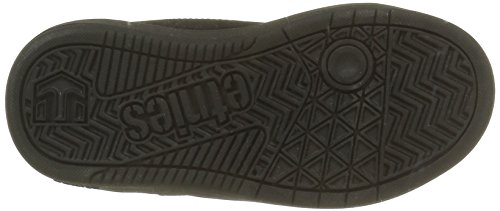 Etnies Kids Fader Ls, Chaussures de Skateboard Garçon Noir (Black Dirty Wash 013)