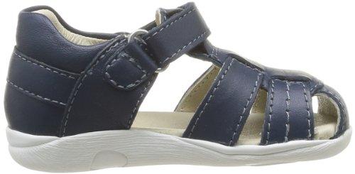 Garvalin 142332, Chaussures premiers pas bébé garçon Bleu (A Azul Marino/Napa)