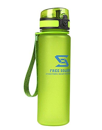 vert une bouteille d'eau vélo/bouteille sport/sac de sport de l'eau, 500 ml