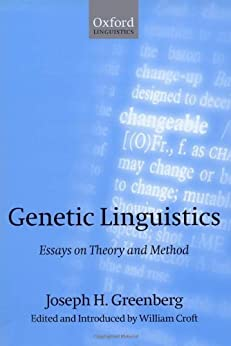 genetic linguistics essays on theory and method