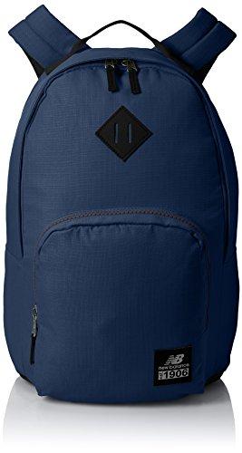 New Balance adulto diario conductor mochila, Unisex, azul marino, talla única