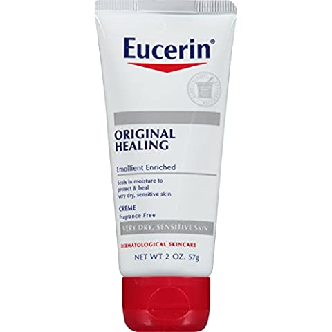 Eucerin Original Healing, Soothing Repair Creme 2-Ounce Tubes (Pack Of 6)