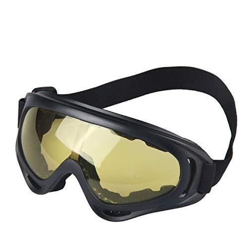 WUJIEXIAN-JXL Skibrille, Feldschutz, Sandschutzbrille, Motorrad, Außensportbrille Outdoor-Brille (Color : B) -