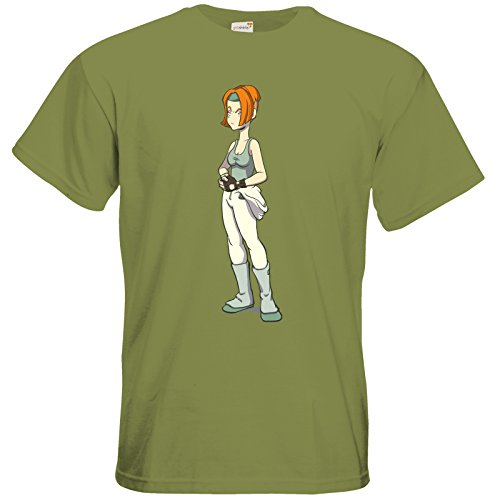 getshirts - Daedalic Official Merchandise - T-Shirt - Deponia Doomsday - Futuregoal Green Moss