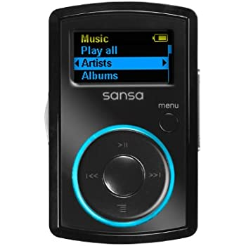 Sandisk 8GB Sansa Clip MP3 Player with Radio - Black