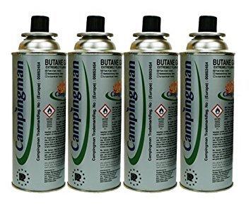 Campingas Gas Kartuschen 4 Stück Gasherdflaschen Outdoor Kartuschen Butangas Gaskartuschen