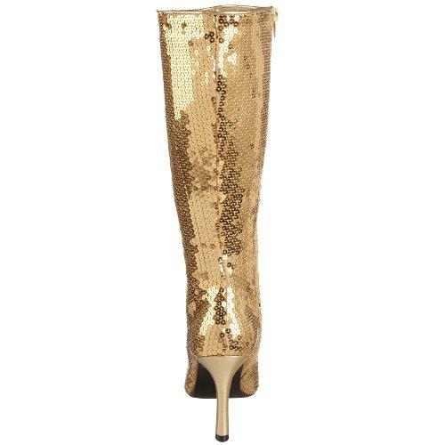 Funtasma LUST2001SQ/B Bottes Femmes Gold Sequins
