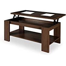 Mesas de centro elevable mesa de salon mesa de centro extensible + cojin ref-18