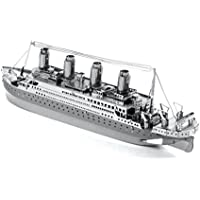 Metal Earth - Fascinations, Titanic Ship 3D metal puzzle, puzzle di metallo