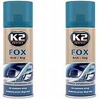 K2 Fox antiniebla Spray, Auto ventana, buena Visión a través de la rejilla en invierno, spray 200 ml