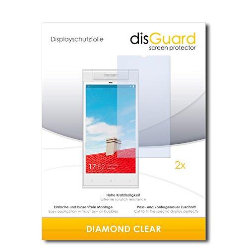 2 x disGuard® Bildschirmschutzfolie Gionee Elife E7 Mini Schutzfolie Folie
