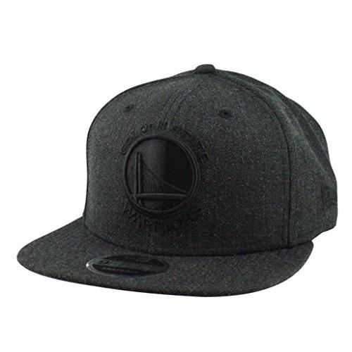 New Era Herren Total Tone Snapback 9FIFTY Golden State Warriors NBA Cap, Black