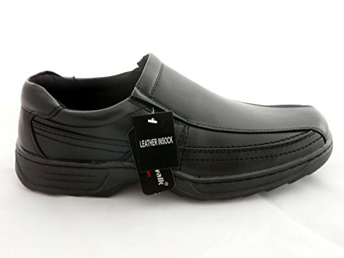 Cushion Walk Men's Leather Lined Lightweight Formal Business Work Comfort Slip-on Shoes...