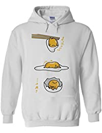 NisabellaLTD Gudetama Lazy Egg Kawaii Funny Japan White Men Women Unisex  Hooded Sweatshirt Hoodie 59aa5df8cc