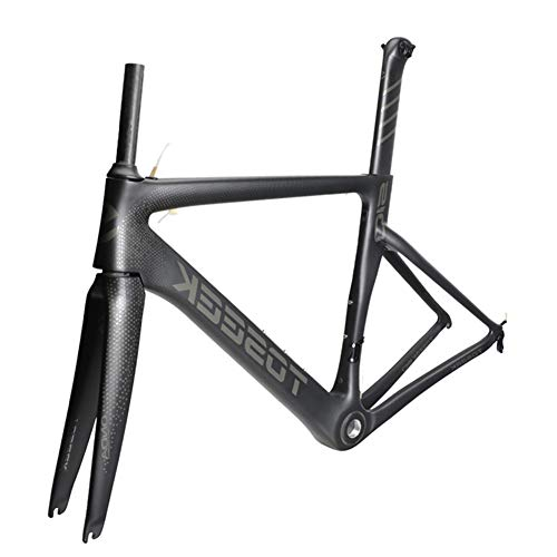 SXMXO Vollcarbon Rennrad Rahmen Aero Cycling Racing Fahrrad Carbon Rahmenset T800 Carbon Rennrad Rahmen 48/51/54/56cm,51cm