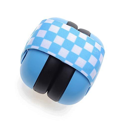 HMILYDYK Cache-Oreilles Anti-Bruit pour bébé Protection auditive NRR 30DB, Bleu