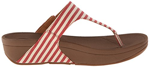 Fitflop - The Skinny, Sandali Donna Rosso (Red 002)