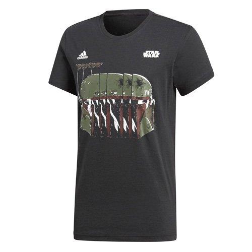 Adidas Boba Fett Camiseta, Hombre, Negro, S