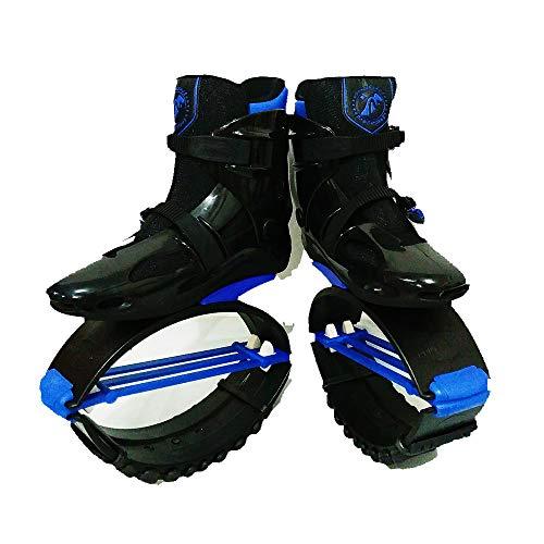gengyouyuan Elastische Schuhe, springende Schuhe, Space Bouncer, Bounce-Schuhe für Kinder, Stelzen für Erwachsene, Rebound-Schuhe, Springschuhe (36-38 Yards (L-Nummer) stieg rot, 70)