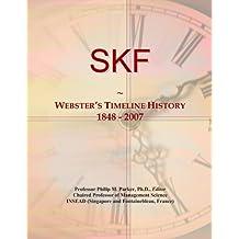 SKF: Webster's Timeline History, 1848 - 2007
