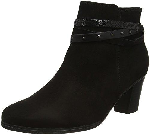 Gabor Shoes Damen Basic Stiefel, Schwarz (17 Schwarz Kombi), 38 EU