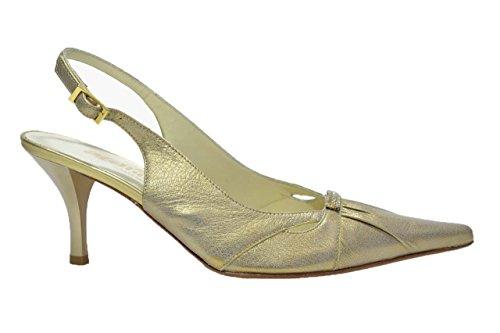 Melluso Decolte' scarpe donna antico eleganti E758 36