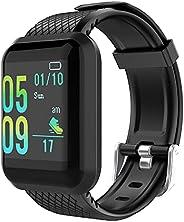 GeeRic Orologio Fitness Tracker,Activity Tracker con Saturimetro Pressione Sanguigna IP67 Cardiofrequenzimetro