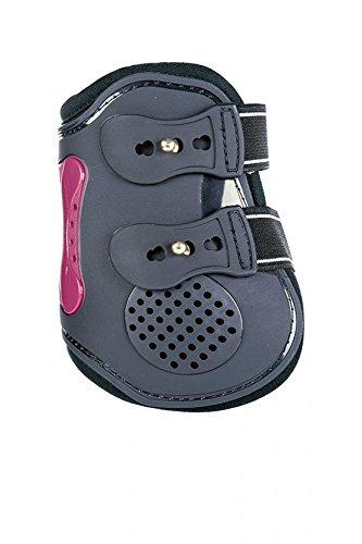 HKM 550992 Streichkappe - Air -, Vollblut/Warmblut, dunkelblau/Dunkelpink