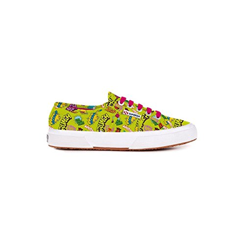 Superga 2750 Fantasy, Damen Schnürsneaker Bang Green