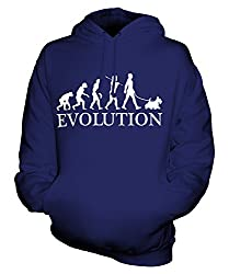 Candymix - Scottish Terrier Evolution Of Man - Unisex Hoodie Mens Ladies Hooded Sweater