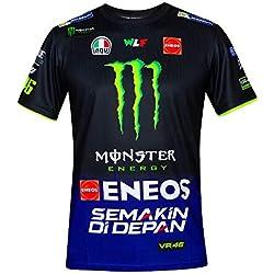 Valentino Rossi VR46 Moto GP M1 Yamaha Racing Team Camiseta Oficial 2019