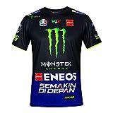 Valentino Rossi VR46 Moto GP M1 Yamaha Racing Team Maglietta Ufficiale 2019