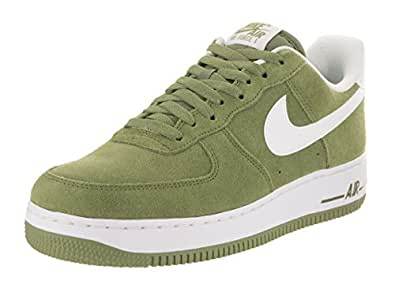 buy popular ce96d 7d90d ... Nike Mens Air Force 1 Low 07 Basketball Shoe Palm GreenWhite 9