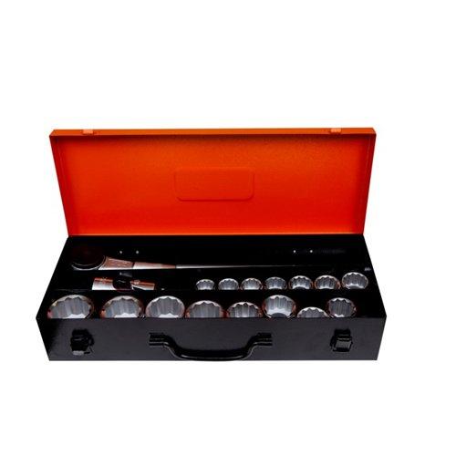 Bahco 8821MB 3/4-Zoll bihexag Socket Set (21Teile)