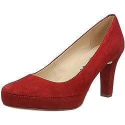 Unisa NUMAR_17_KS, Zapatos de Tacón para Mujer, Rojo (Red), 40 EU