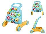 Lauflernhilfe Laufhilfe Laufwagen Baby Walker Lauflernwagen Kind Gehhilfe von Alsino 2250