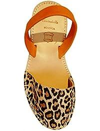 5d70b248817 Amazon.es  y con - Piel   Sandalias y chanclas   Zapatos para mujer ...