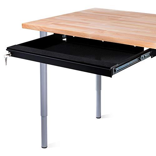 Laptop-computer-stahl Sicher (PENN ELCOM Laptop Sicherheit Schublade 550mm/55cm schwarz ex-6171b)
