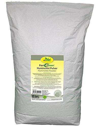 cdVet Naturprodukte EquiGreen HuminoVet Pulver 25 kg - Pferde - Rottebeschleuniger  - schädigende Belastung erheblich reduziert - gesunde Stallluft - Senkung des Keimdruckes - gesunde Tiere -
