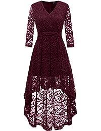 Suchergebnis auf Amazon.de für: schwarzes kleid vorne kurz ...